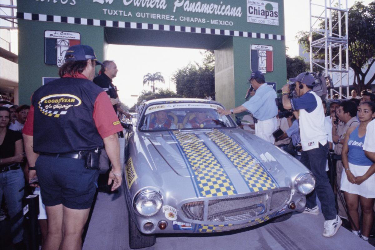 VRS Volvo P1800 at La Carrera Panamericana
