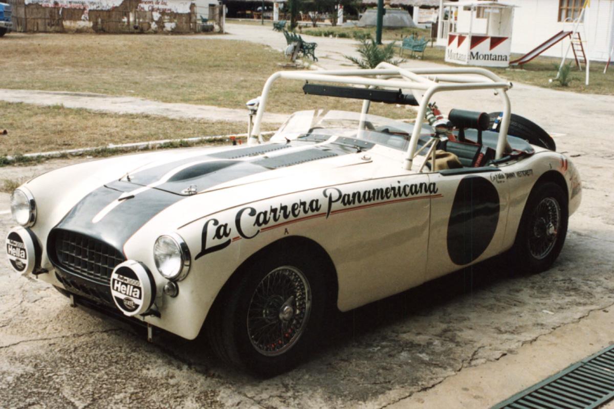 A VRS prepared Swallow Doretti raced in the 1992 La Carrera Panamericana.