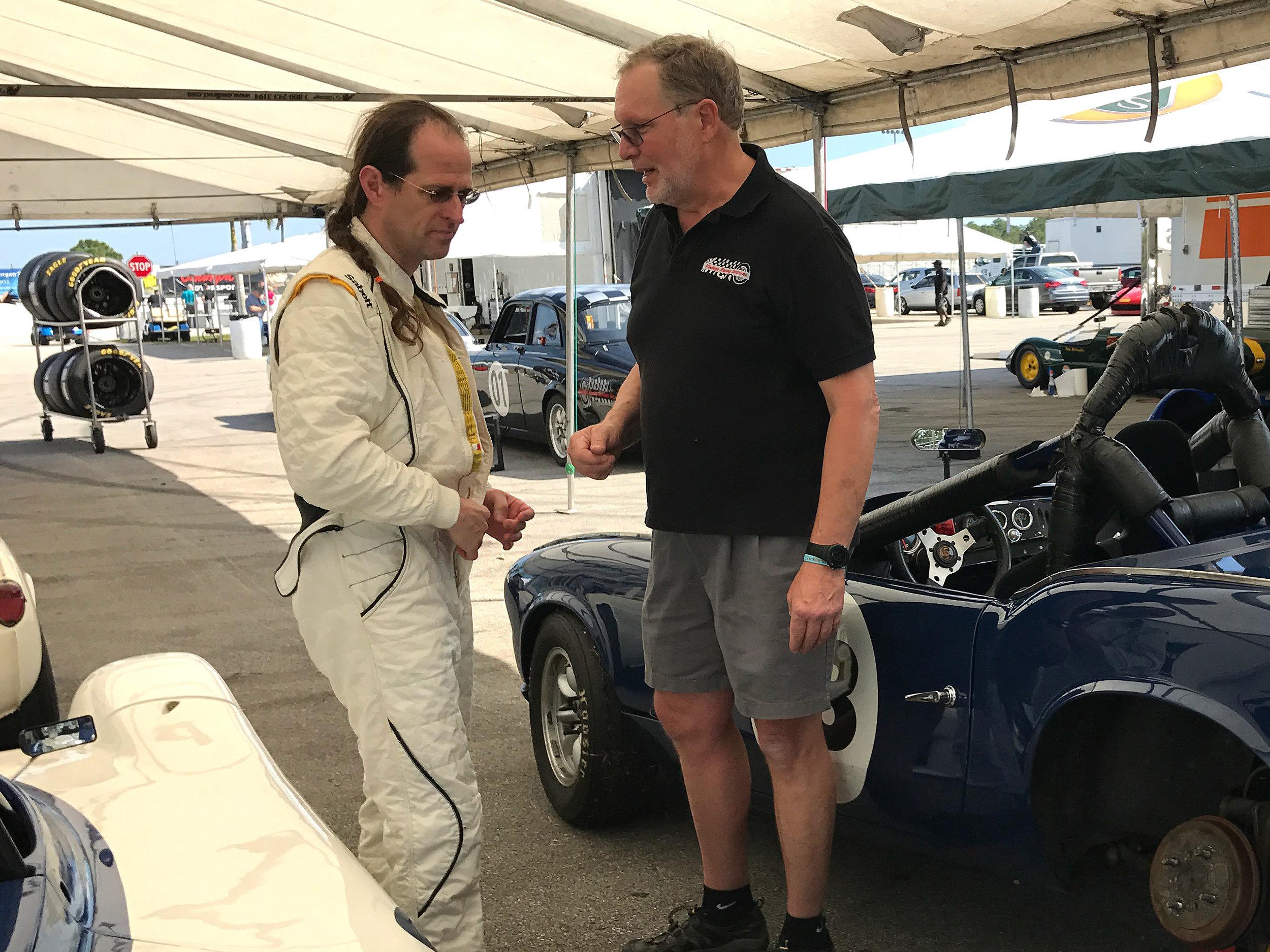 Kent Bain and Chris Mason at Targa 66