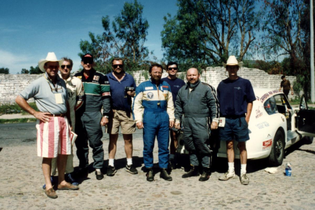 VRS at La Carrera Panamericana in 1992