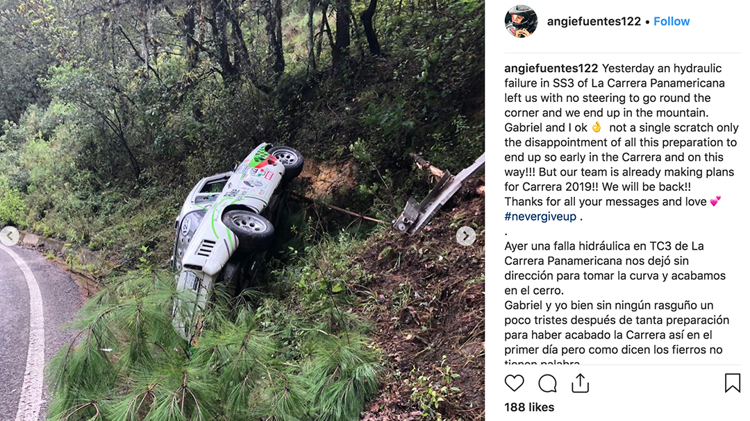 Stage 6 of La Carrera 2018 was wet and slick