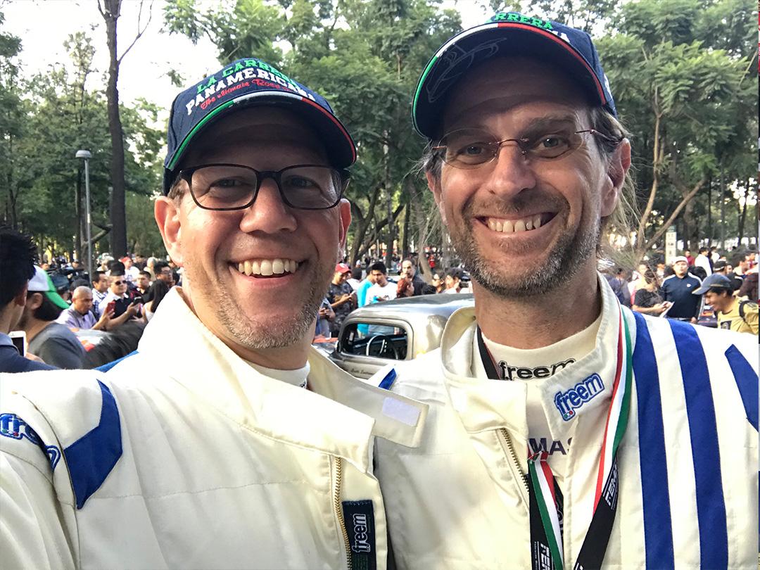 Happy to be racing La Carrera