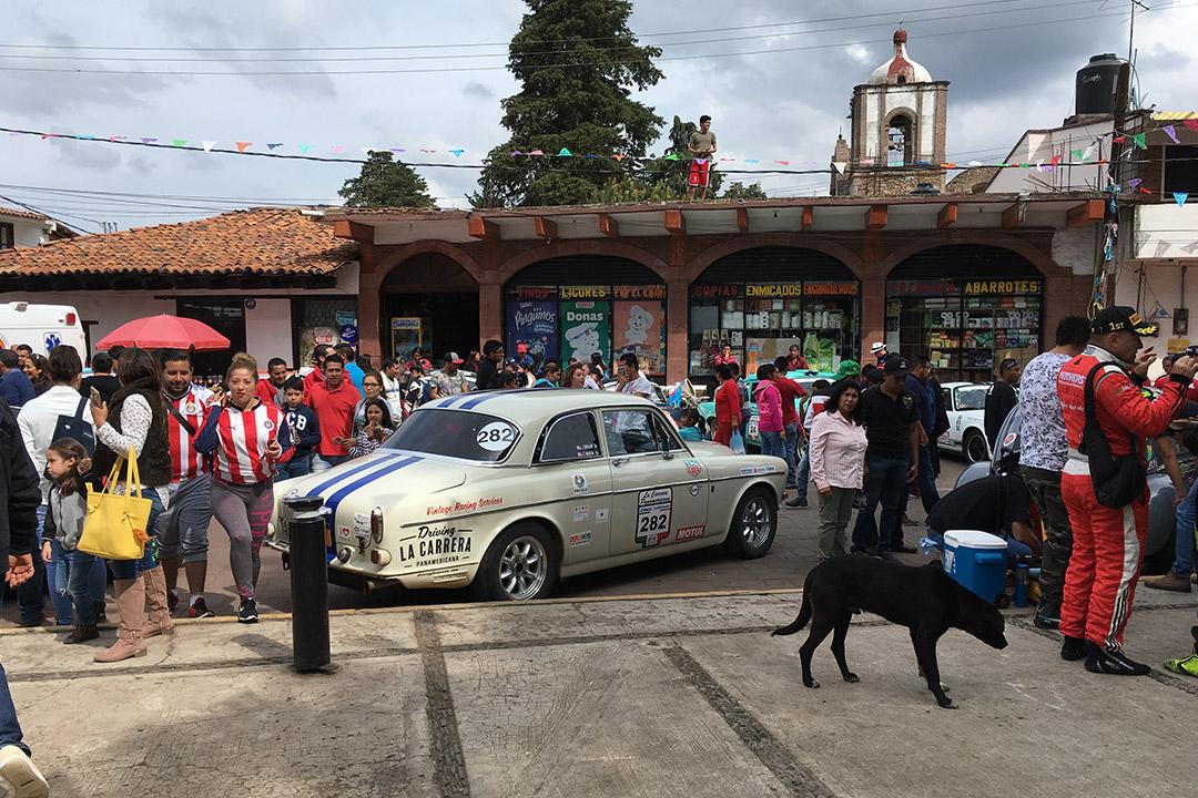 La Carrera fiesta in Chapa de Mota, Mexico.