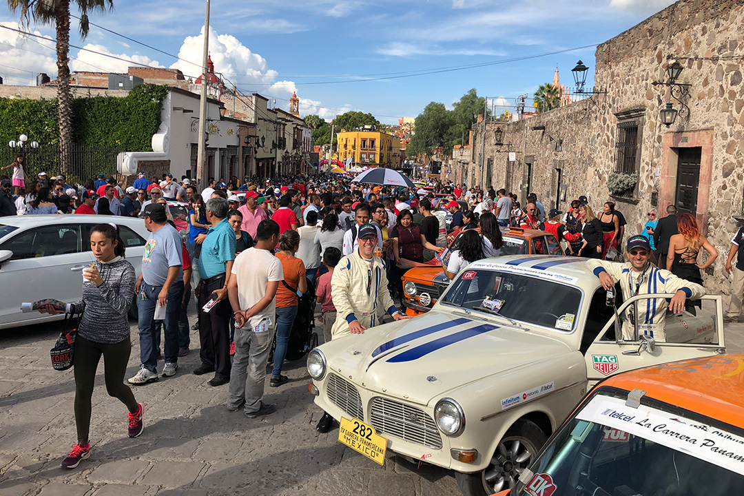 The Carrera party in San Miguel Allende.