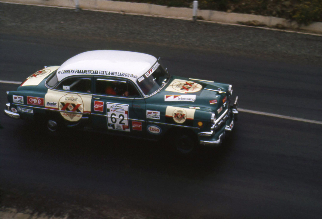 Gallery of the historic Carrera Panamericana