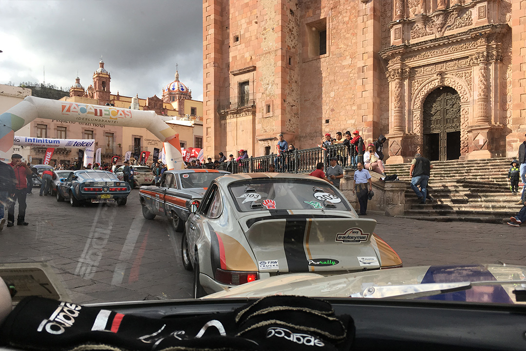 Stage 6 finish in Zacatecas