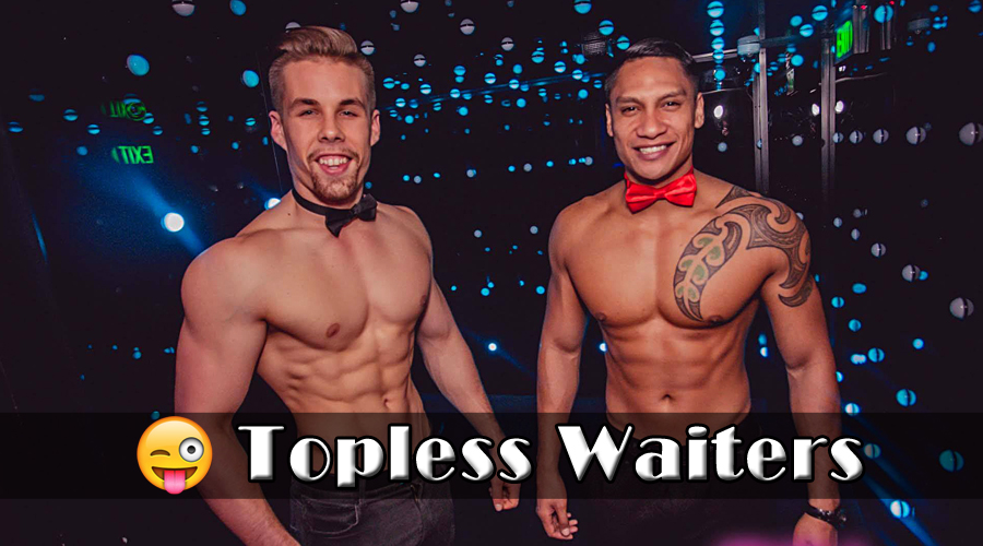 The hottest hens party topless waiter, g string waiters, naked waiters and buff butler available for booking in Brisbane City. We come direct to you at your hotel or home.