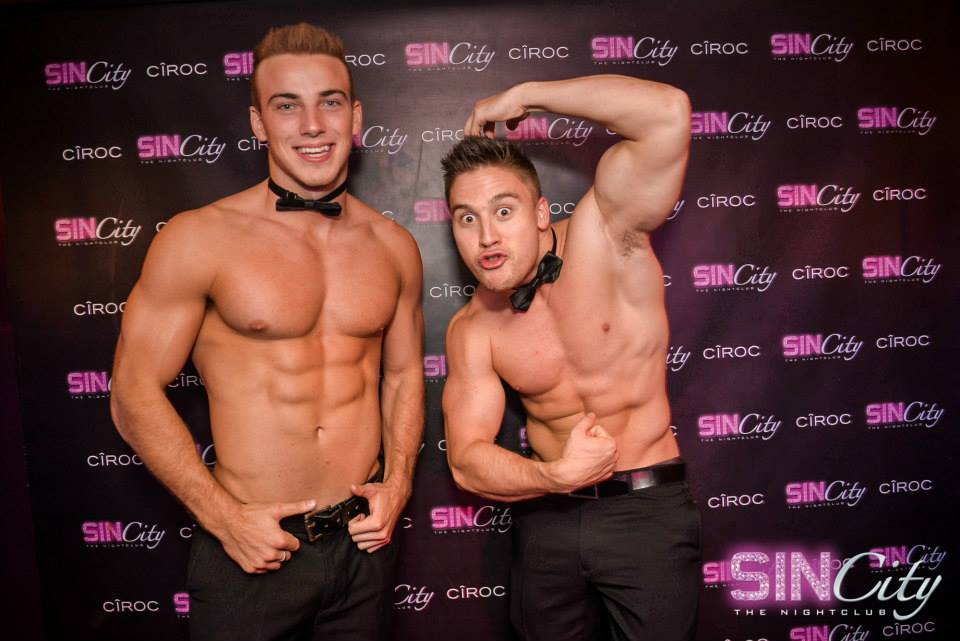 Male strippers are just like everybody else: we act silly, take time off and live normal lives!