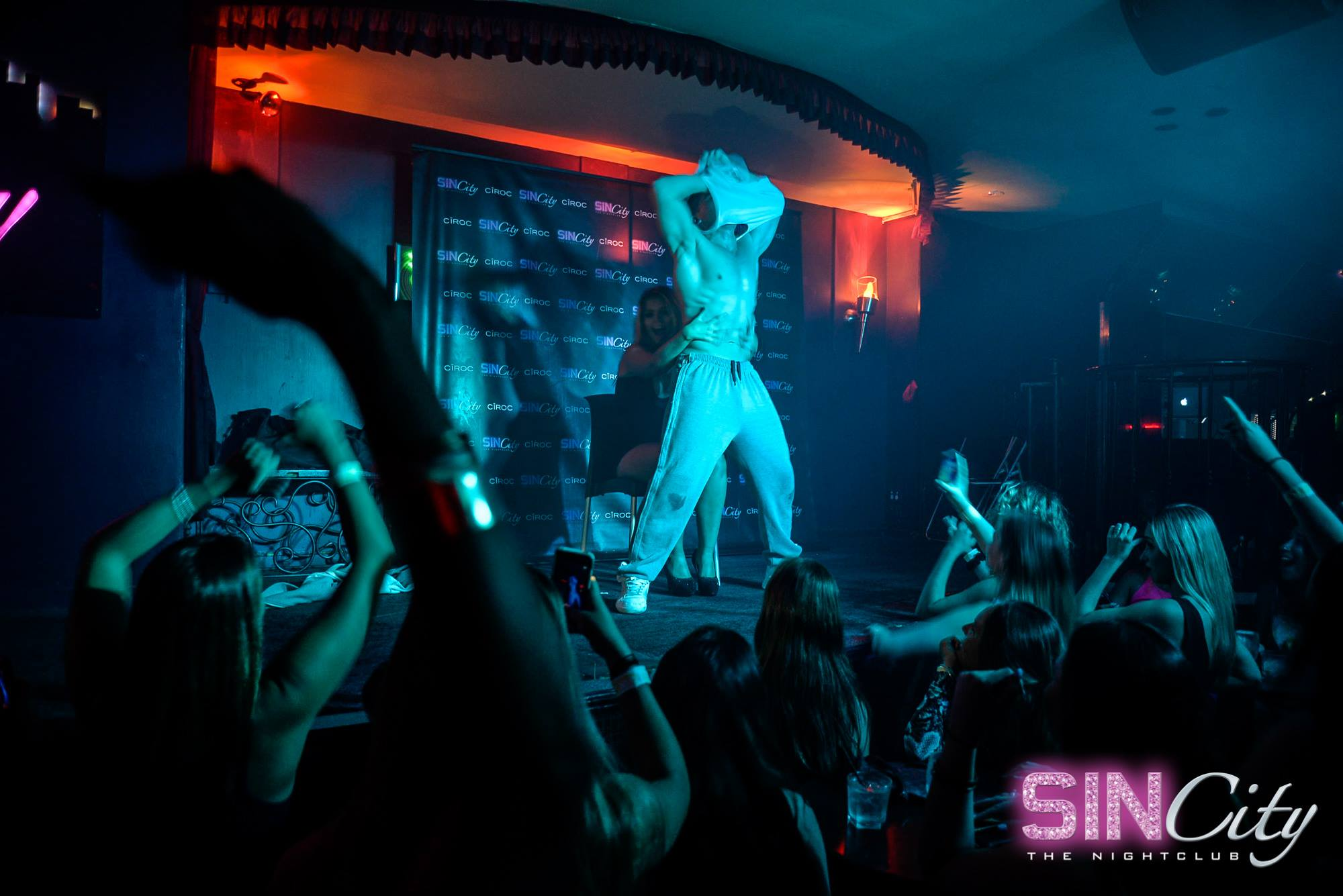 Male strippers are always on the road, travelling from one job to the next!