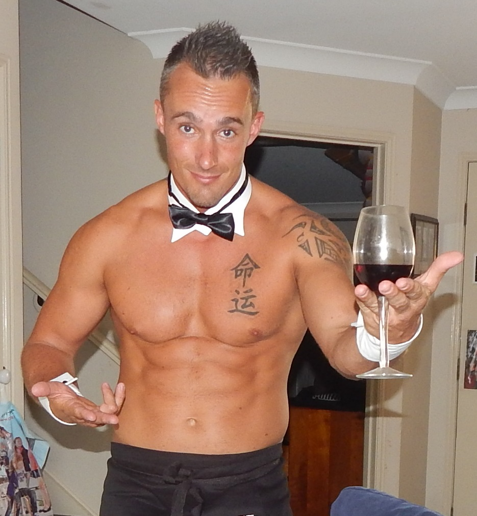 French Butler In The Buff - Brisbane