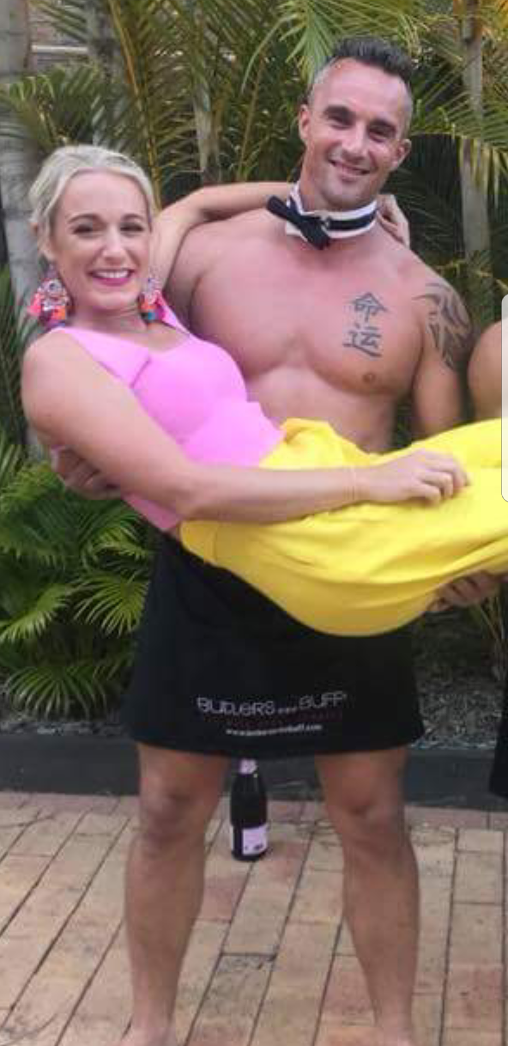 topless male waiters for hire - Brisbane CBD