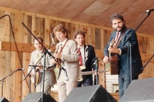 Hot Rize in 1989 at Merlefest