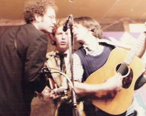 Pete Wernick, Tim O'Brien, Mike Scap in 1978