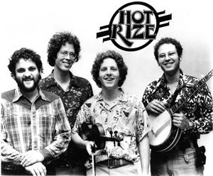 Hot Rize in 1978, the year the band was formed.