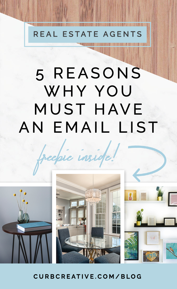 5 Reasons Why You Must Have An Email List_Curb Creative Blog Pinterest Image.jpg