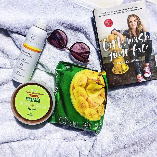 ☀️Pool Essentials☀️ Yesterday's day at the pool was literally perfection. Perfect weather, a good book, good friends and the perfect pool snackage! ☀️ When you find out your girl America, founder of @salsasdonsebastian lives in the same neighborhood your 🐶 sitting in, you meet up at the pool for some salsa and good conversation! ☀️ Y'all this salsa is the freshest it's going to get and it's available in most stores here in #RVA including places like @ellwoodsrva and @unionmarketrva so before your next BBQ or Pool party, go grab you some @salsasdonsebastian Salsa and Pico and YOU my friend will be the talk of the town. ☀️ Here are my pool essentials: 💦Good Book: Girl Wash Your Face by @msrachelhollis 💦shades 💦My only Sunscreen I use that is toxin-free and safe for kids and adults, @beautycounter (link in bio to purchase) 💦Snackage: LaCroix, plantain chips and all the @salsasdonsebastian Salsa I can handle. ☀️ Happy Summer Friends! . . Pic 2: Founder of @salsasdonsebastian America :) ☀️ ☀️ ☀️ #poolday #rva #bloggerlife #salsadonsebastian #beautycounter #safesuncare #safeskincare #poolessentials #girlwashyourface #salsadancing #rvalocal #iamwellandgood #paleosnacks ##whole30 #summertime #summervibes #healthysnacks