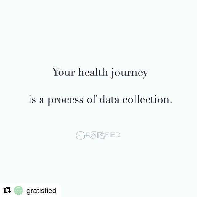 This is no one size fits all. There is no one day fits all. Being paleo is for me and my own bio-individuality and I don't assume or think it's for everyone. It takes listening to your body, learning and making decisions based on how what you are doing makes you feel. @gratisfied ・・・ #repost  Each day (moment really) is different. Without attachment, try paying attention to the various experiences/foods/exercises/self-care practices that align with what makes you feel good. And vice versa: what are those things that might take you away from that alignment. Do more of the former; refrain from beating yourself for the latter. It's simply a journey of data collection 🙌 www.gratisfied.com