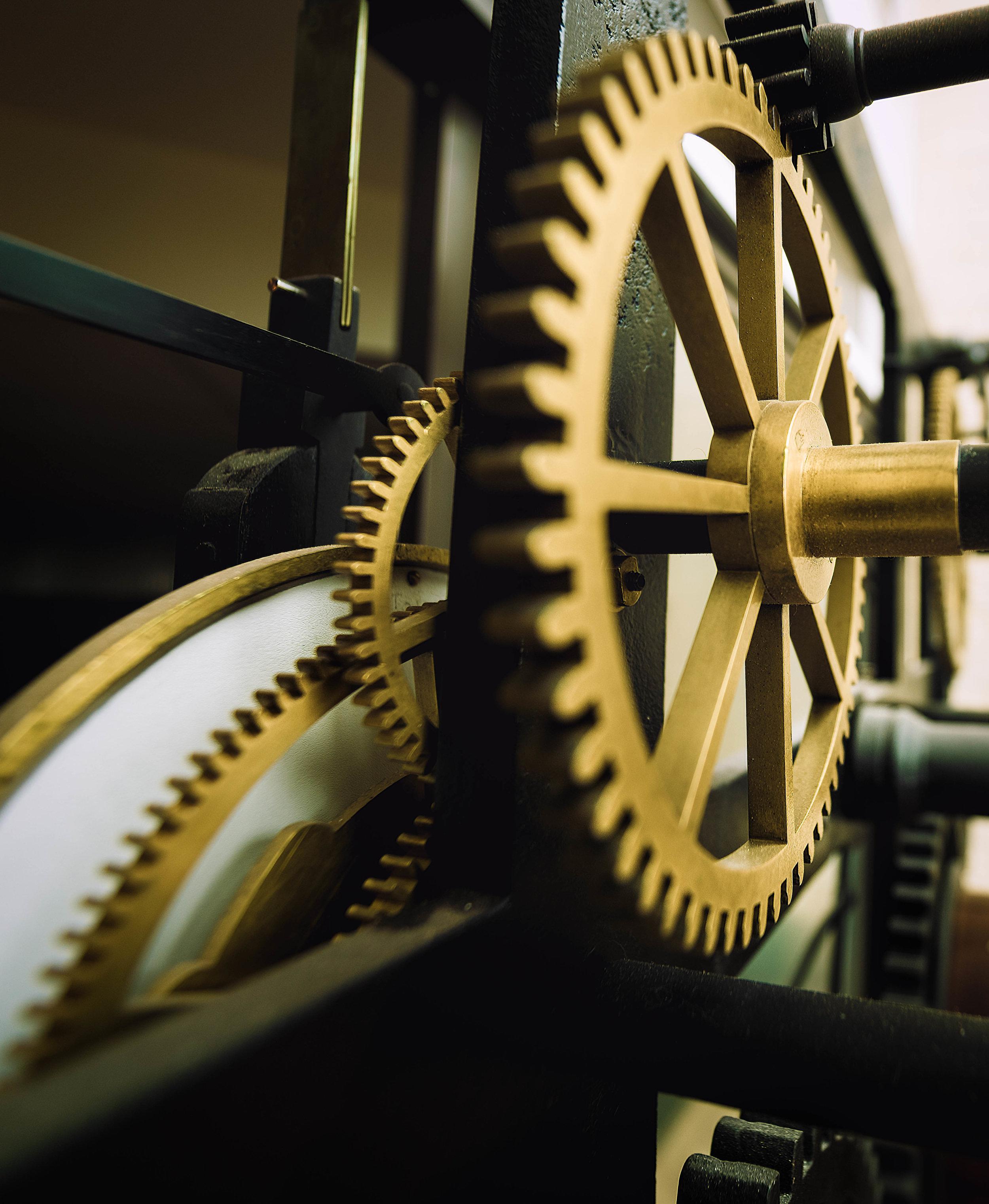 A&W Johnston Clockwork Gears