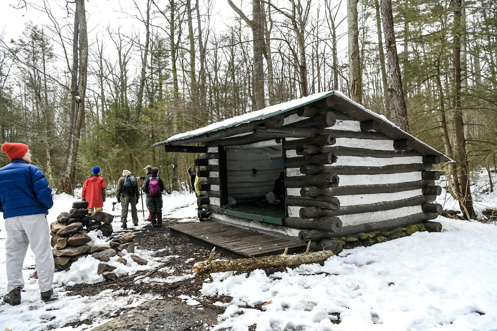 Antietam Shelter along the Appalachian Trail near Waynesboro, PA
