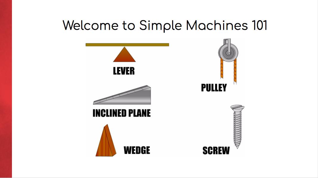 Simple Machines 101