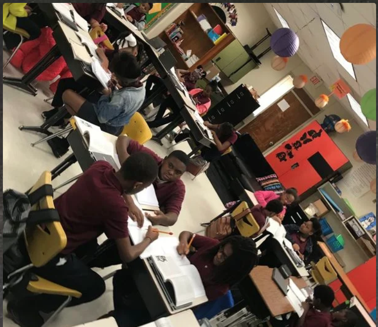 Collaboration Builds Knowledge! - Help me give my students flexible seating for collaborating in groups and vibrant color paper so that they can be excited to create visually stimulating student work, student work that can then be laminated for durability.$666 | March 2019