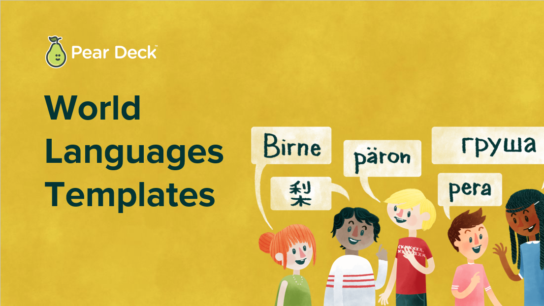 World Languages Templates    View & Download >