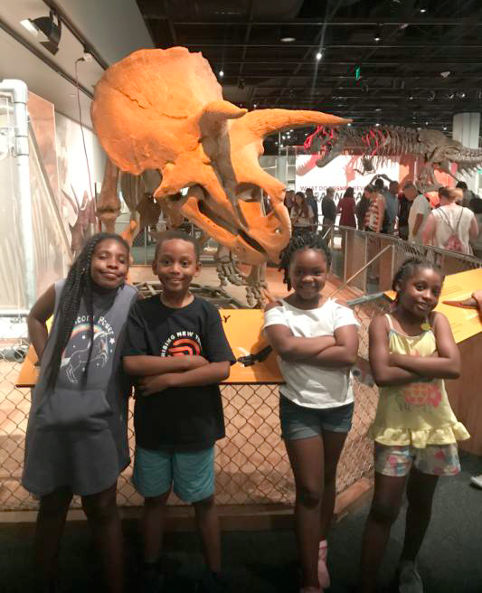 COTG participants at the Smithsonian National Museum of Natural History
