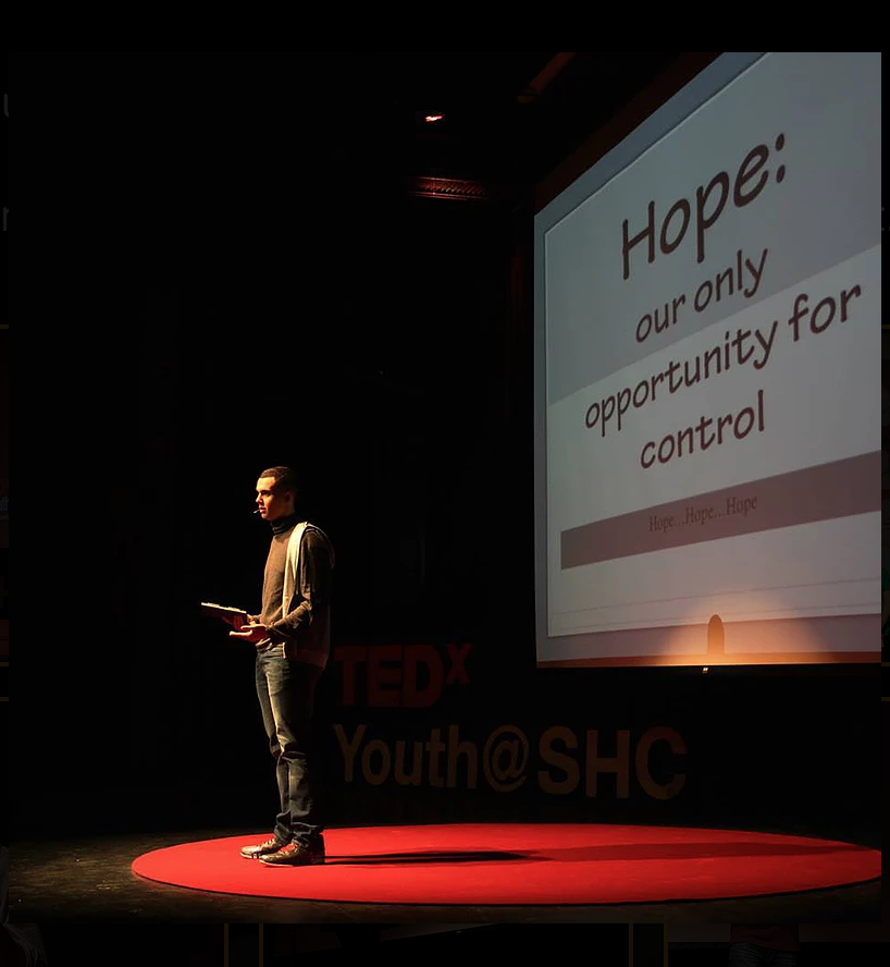 Christian Wilburn - Christian educates the audience about the effects of hope