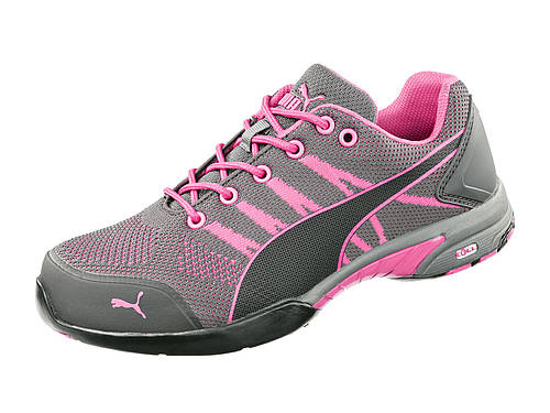 Puma CELERITY KNIT PINK WNS LOW ASTM SD Item No. 642915 — Route 5 Boots & Shoes