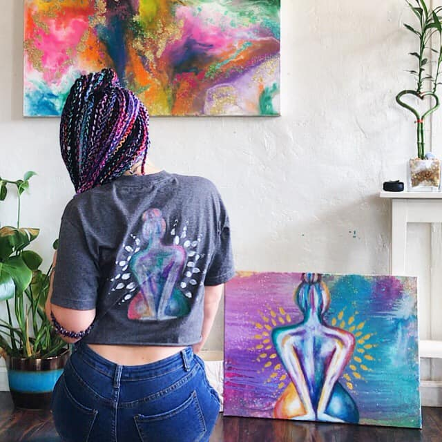 Joelle Lyn - Colorful manifestation inspiration on and off the canvasInstagram: @joellelynart_