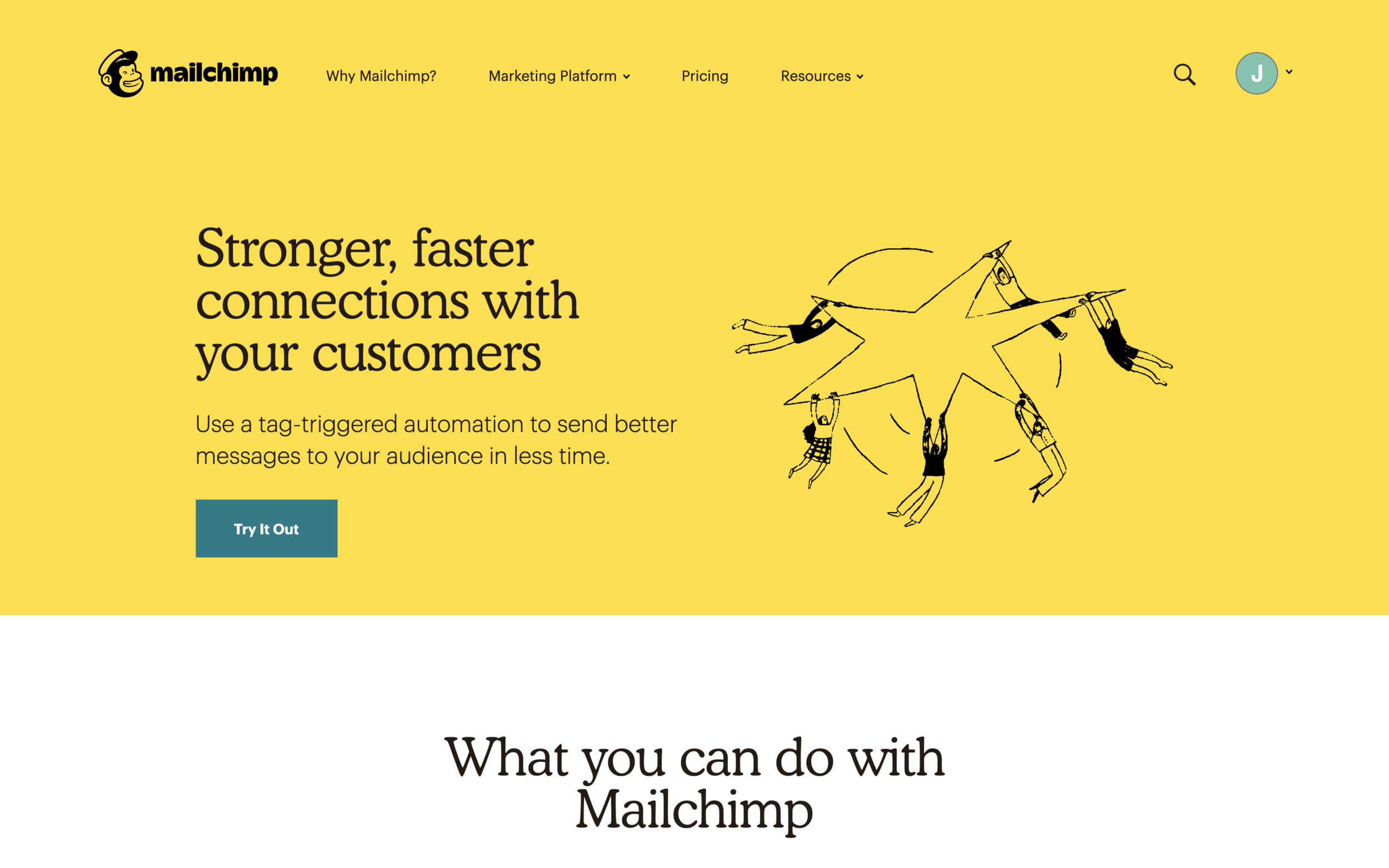 Mailchimp for email marketing Three Crowns Copywriting and Marketing