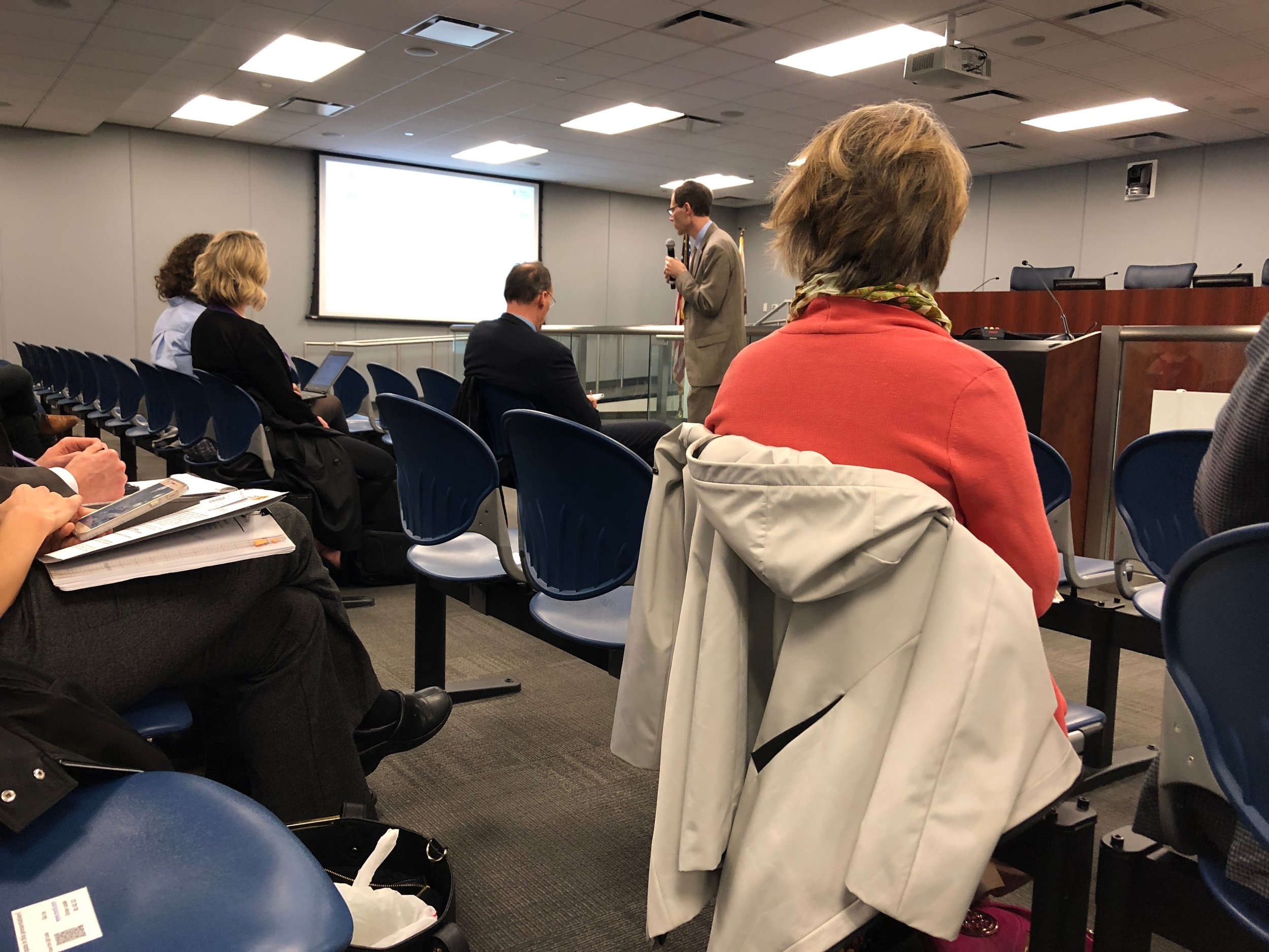 May 20th, 2019 State ESSA Listening Tour in Chicago, at CPS HQ.