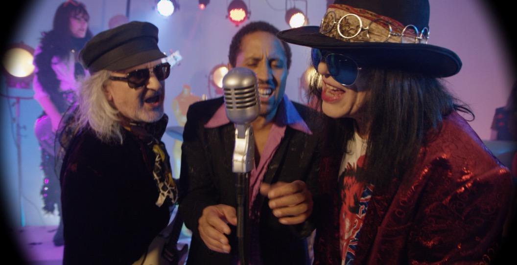 Wayne, Rolan and MC ….  twentieth century boys!
