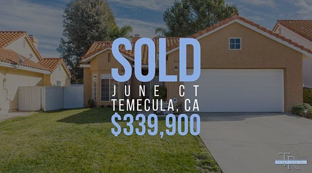 Another #RoripaughHills Home Sold! 🎉 #TysonRE #sold #homesold #closed #escrowclosed #temecula #topdollar #realestate #realtor #broker #temecularealtor #temecularealestate #temeculavalley #socal #happyfriday