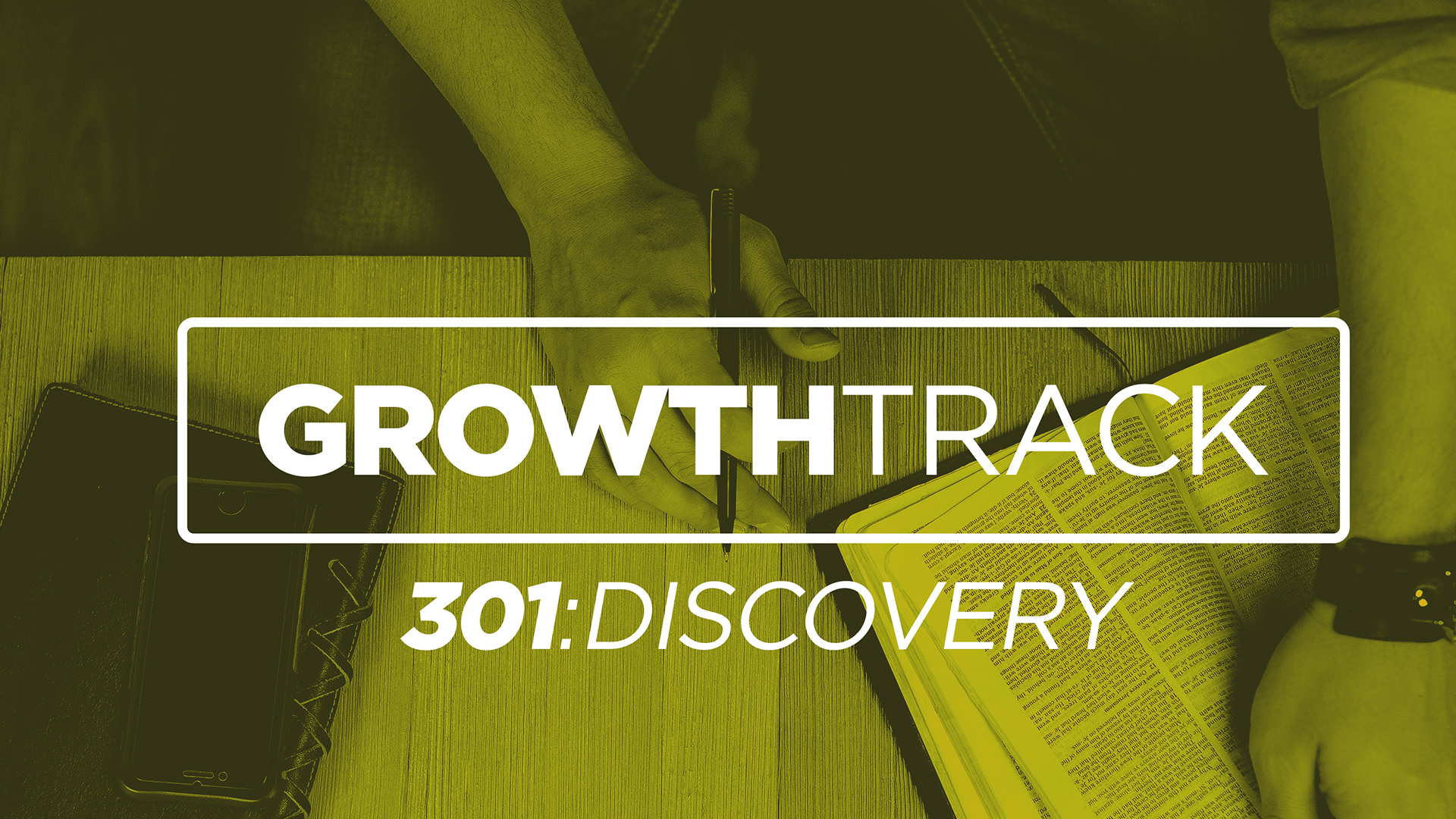 Step THREE - Discovery - Step Three of Growth Track helps you discover your purpose. God has created you with gifts and talents, and He wants you to know what they are. Next Step: Fill out a Volunteer Application