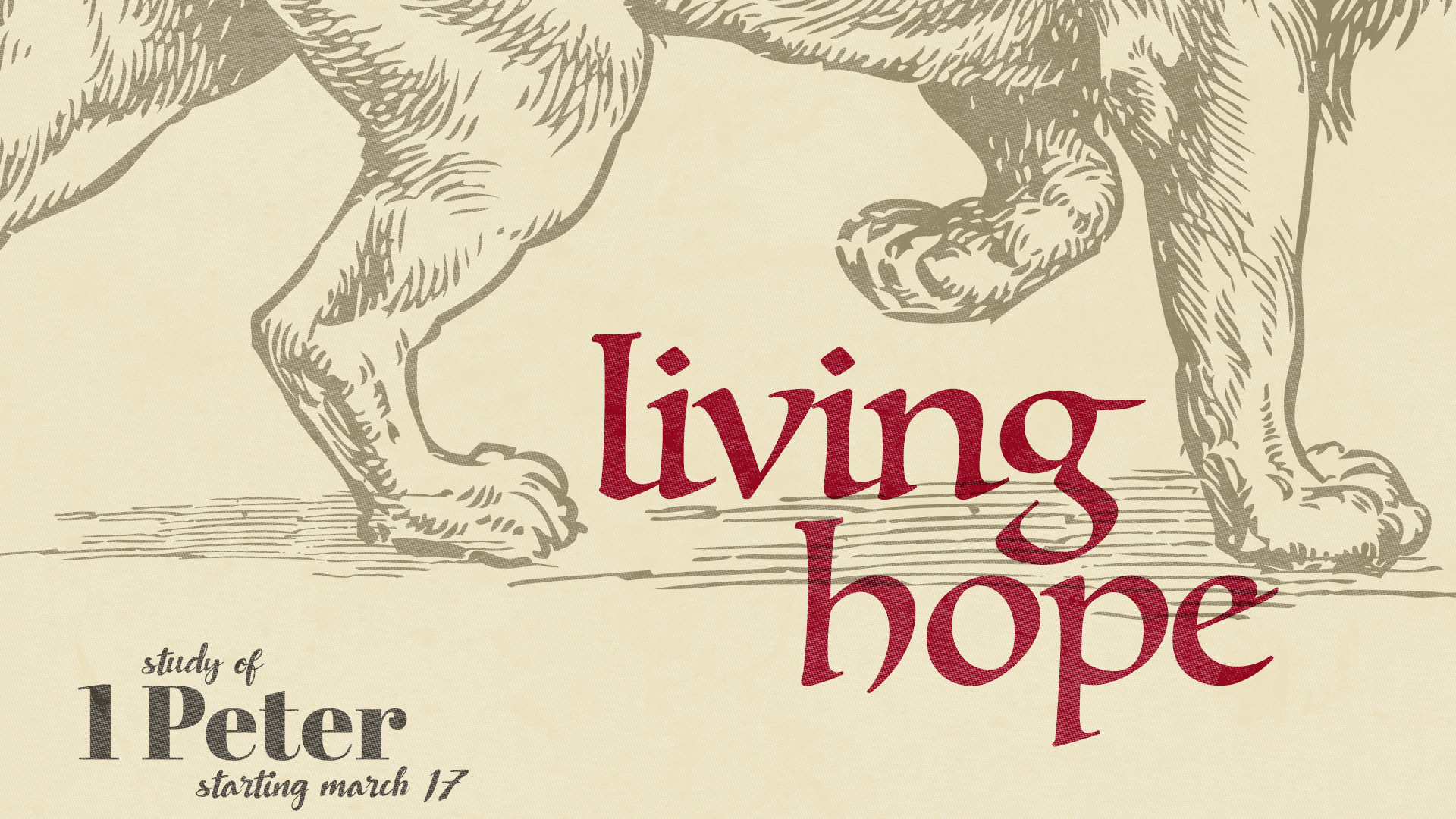 Living Hope (March 17th to June 2019)