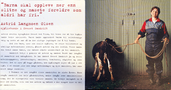 Book no. 1. about Norwegian farmers