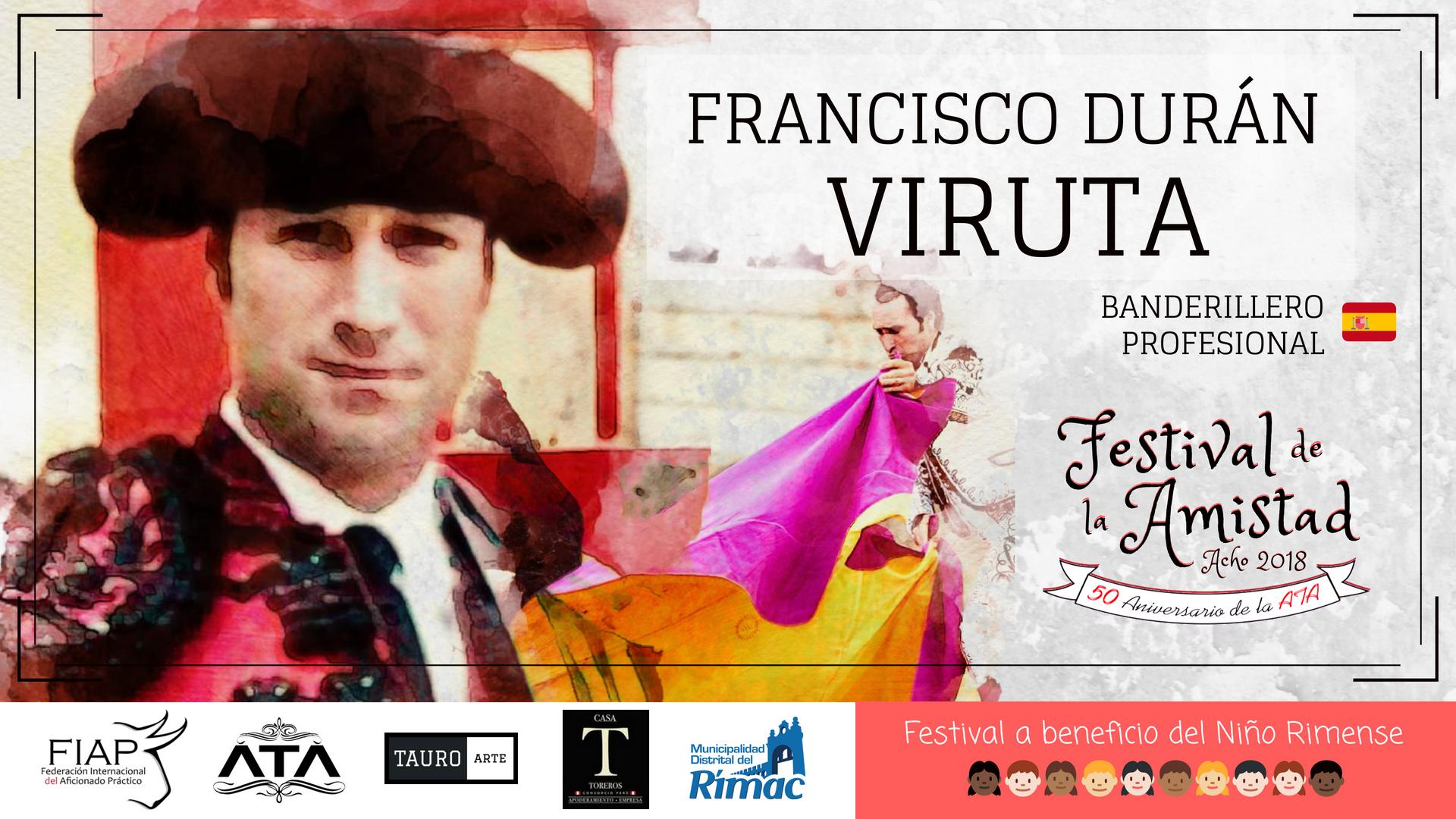 """FRANCISCO DURÁN ASENCIO """"VIRUTA"""""""