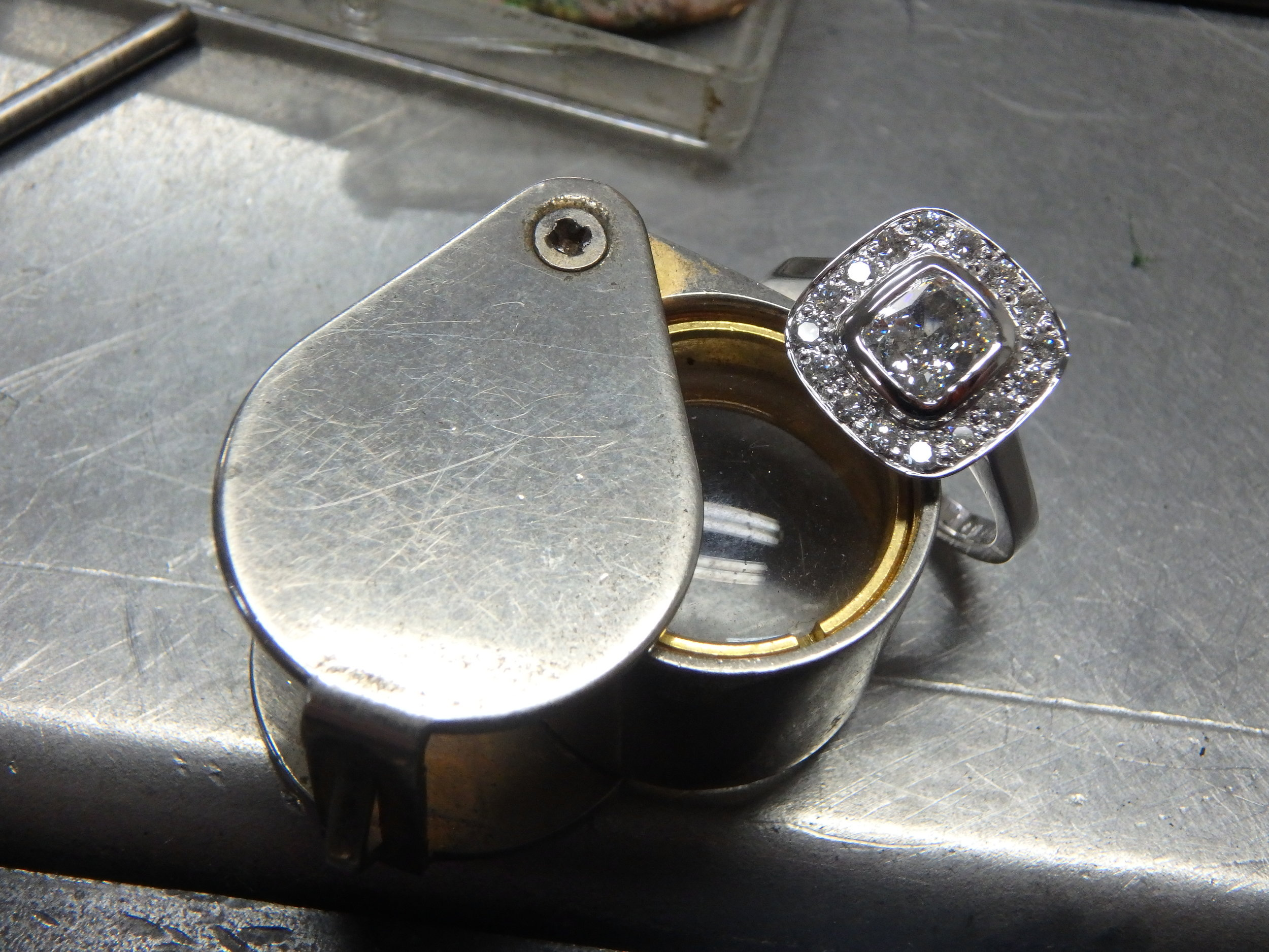 Perfection  - This allows Wynelle to give our customers a lifetime guarantee on the manufacturing of your precious piece.