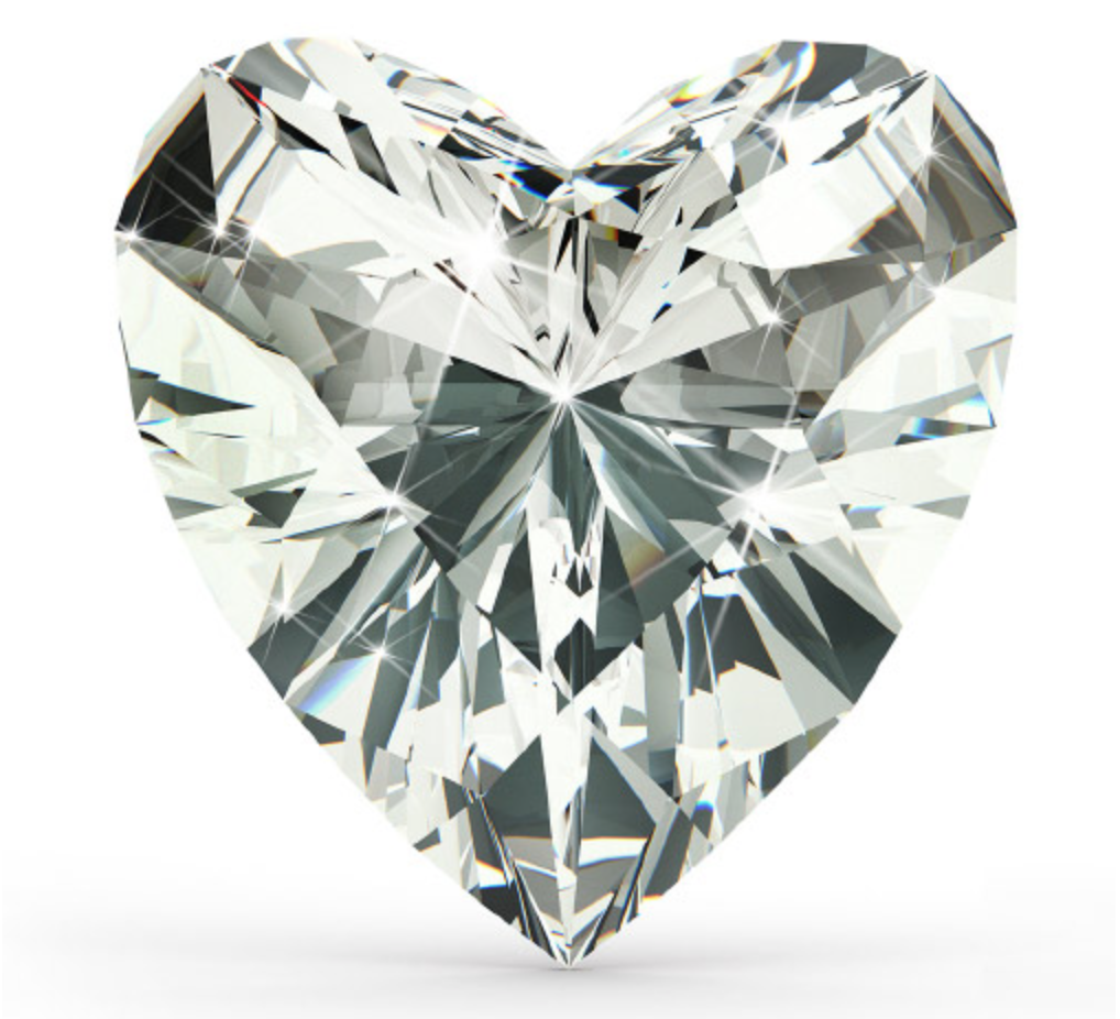 """Heart Shape    Any diamond shape that isn't the traditional round shape is called a """"fancy shape."""" The Heart Shaped Diamond is probably the fanciest of all shapes. For a unique gal, the Heart Shaped Diamond will be your best bet, as heart shaped diamonds are of the most unique shape out there."""
