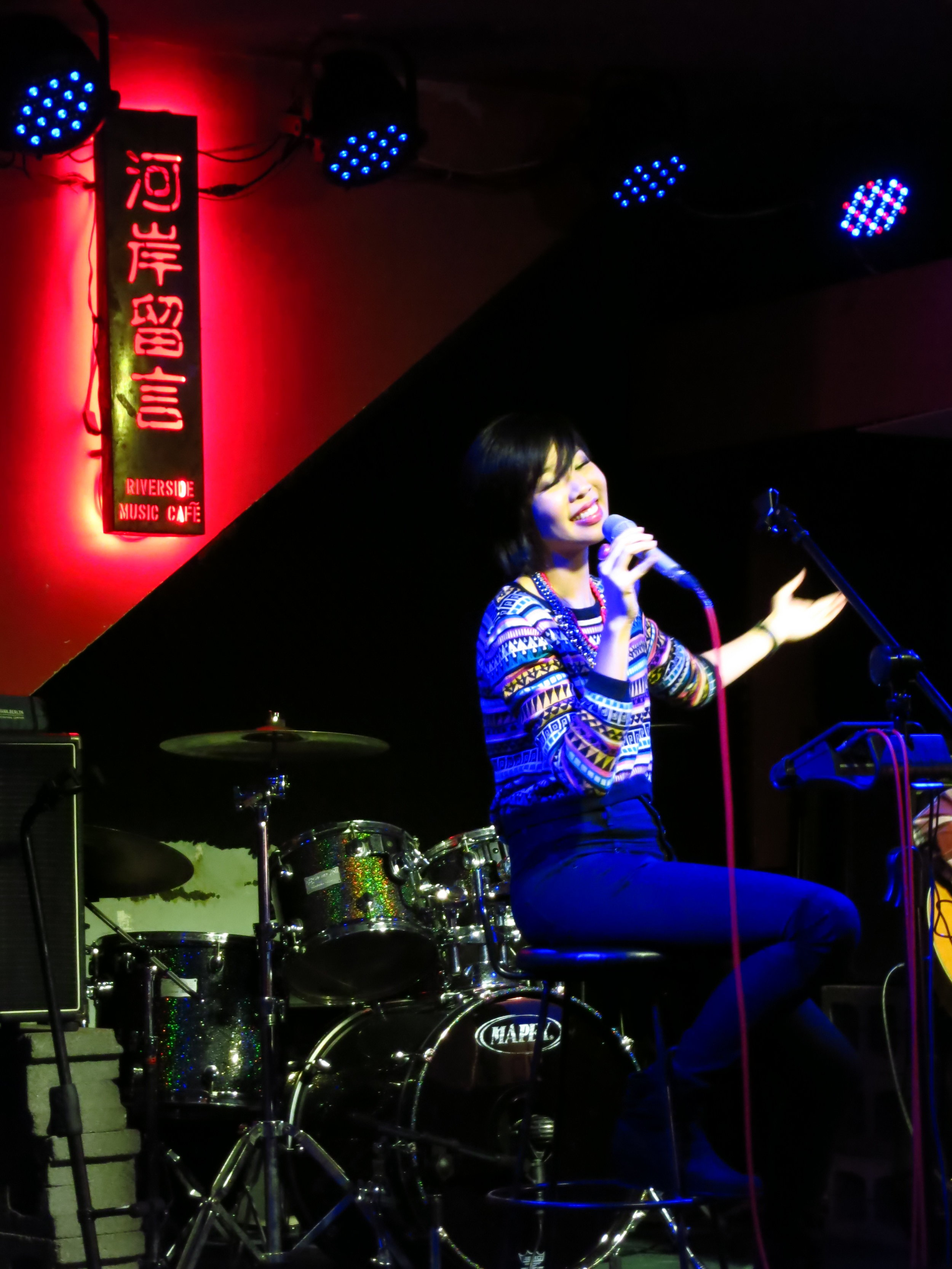 Live Performance for Riverside Music Cafe, Taipei (2014)