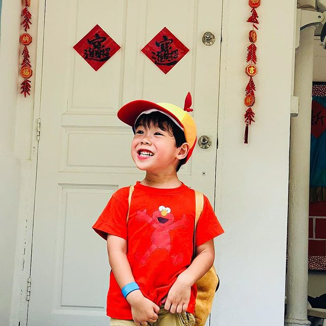 Looking forward to CNY everyone? 🍊🍊恭喜发财!! #cutestboyever #leondewinne #momlife #sgmummy