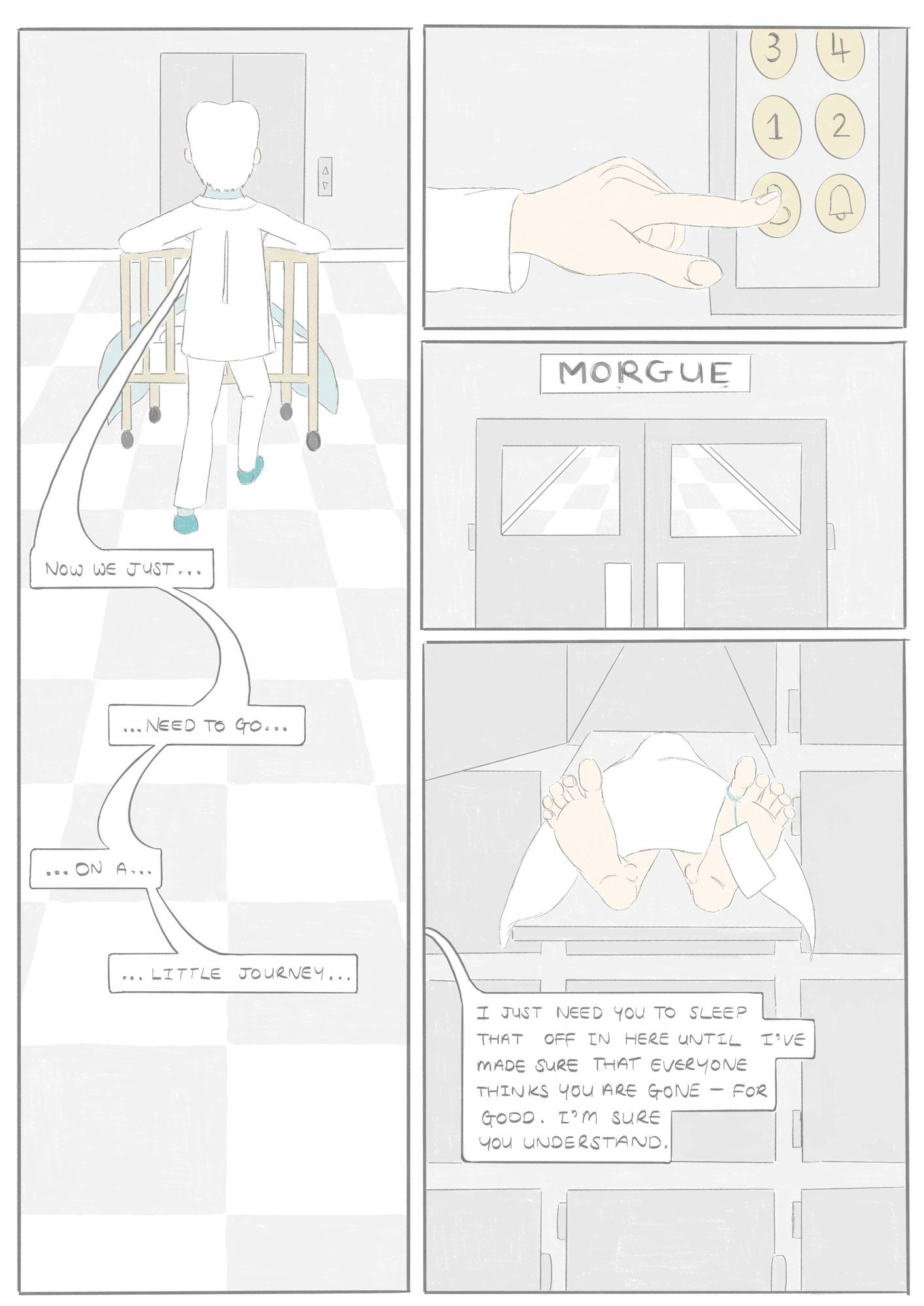 Page 9 of Eight Legs Elliott