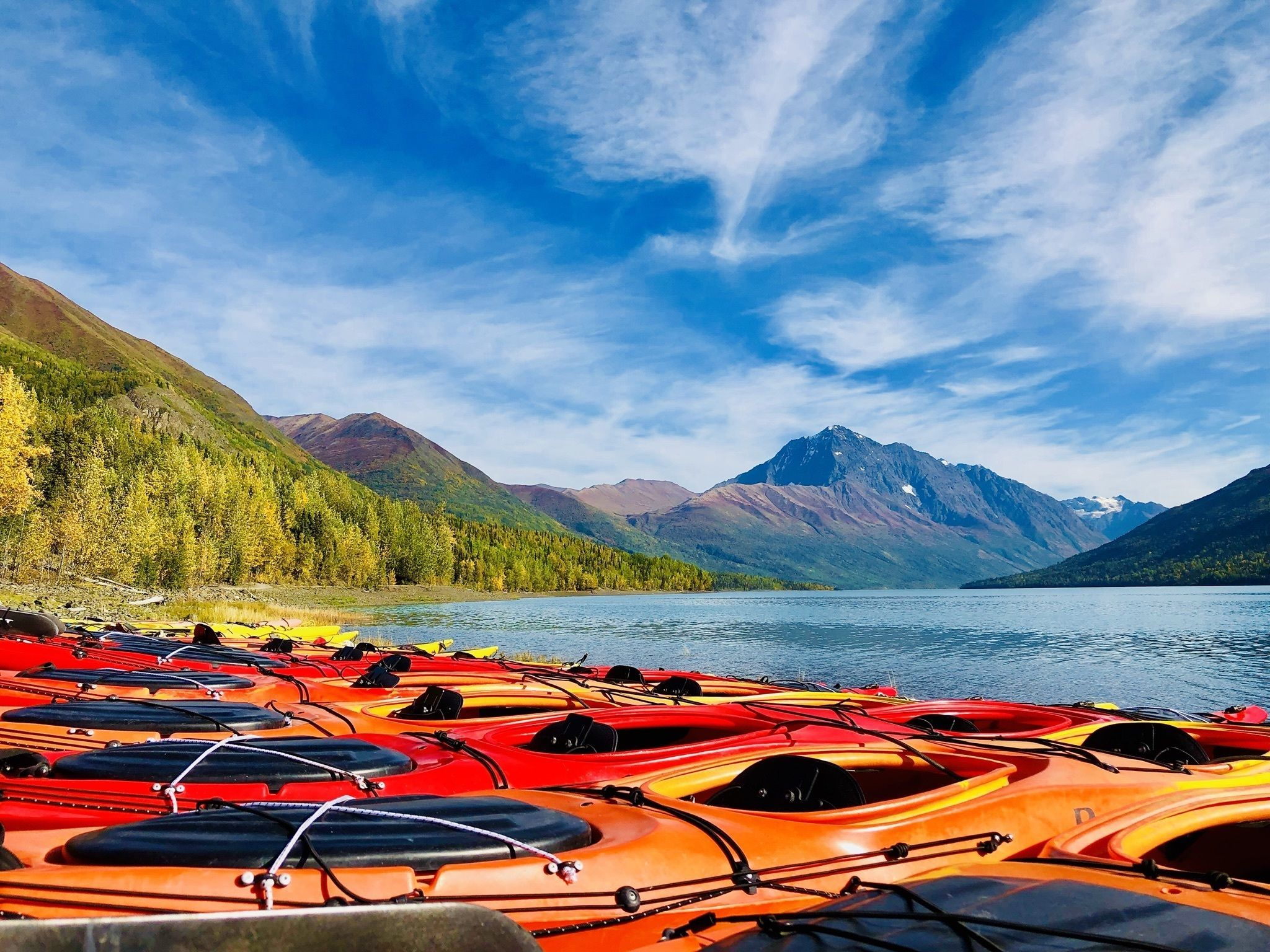 Eklutna Lakeside Trail - Check Out Trail Details by clicking here