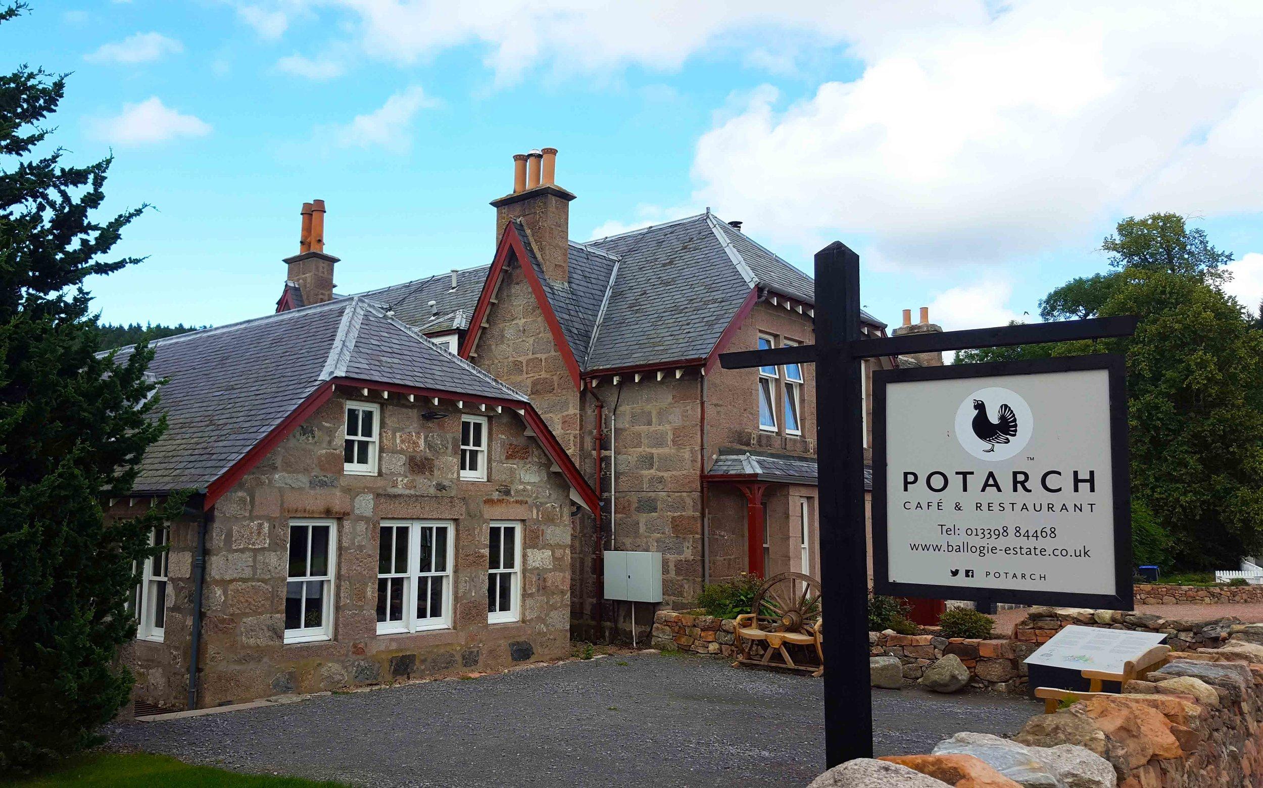 Potarch - Ballogie Estate, Aberdeenshire