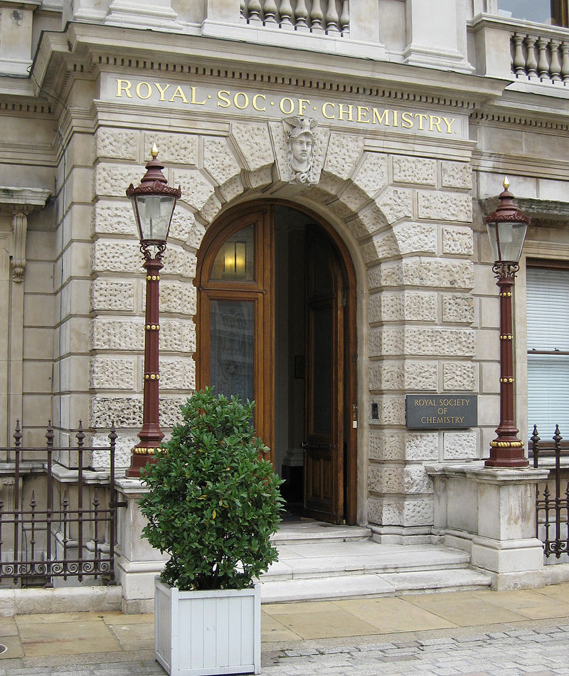 Entrance to the Royal Society for Chemistry