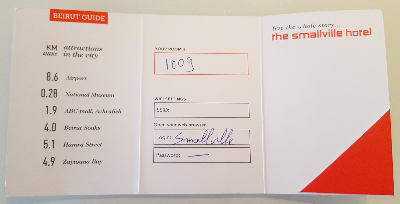 Smallville Hotel keycard folder inside.jpg