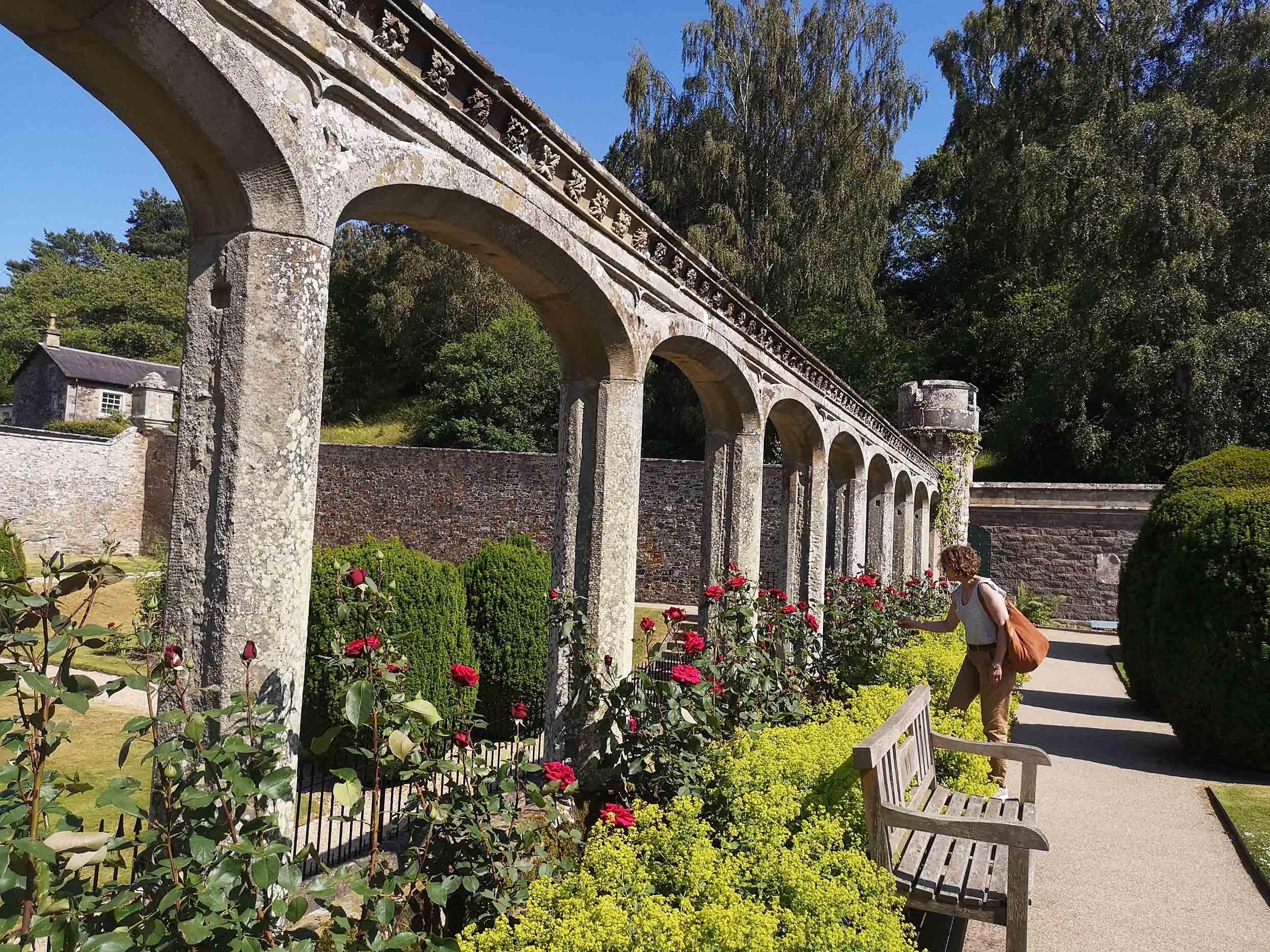 Abbotsford gardens and Sara