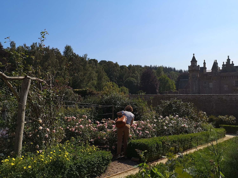 Abbotsford gardens and Sara.jpg