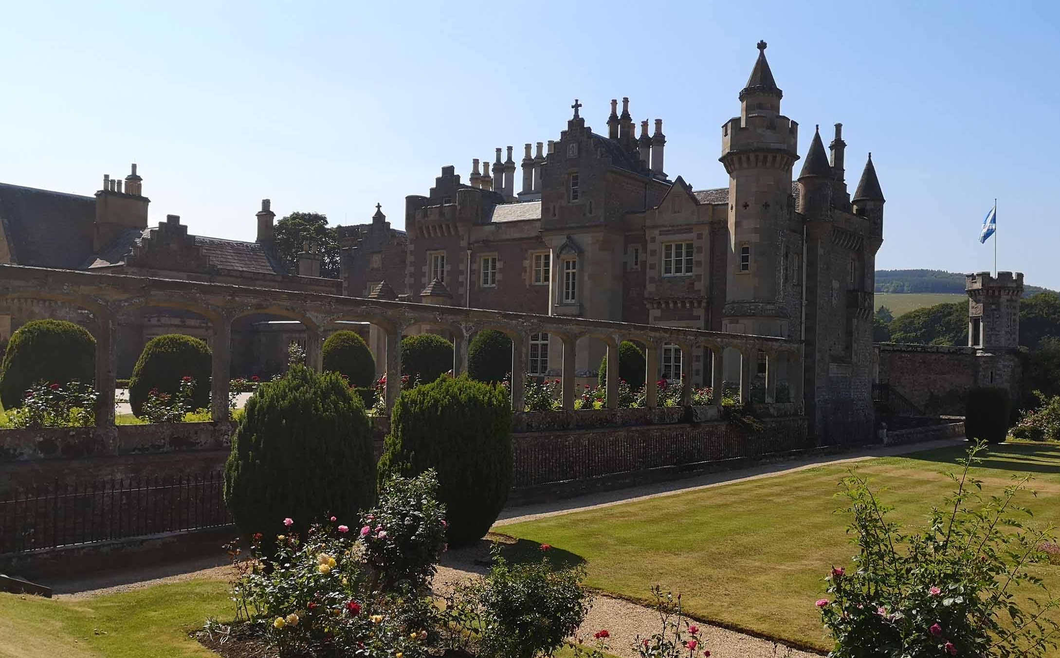 Abbotsford House - By Melrose, the Scottish Borders
